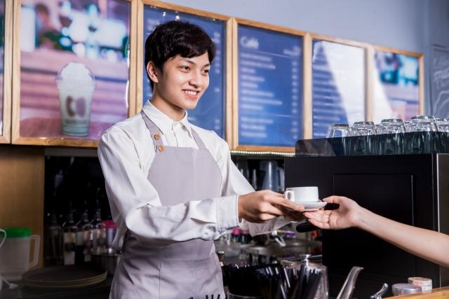 コーヒー店店員